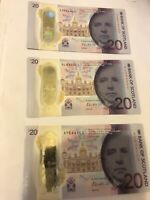Bank Of Scotland, £20 Banknote, New Uncirculated Condition 1st June 2019