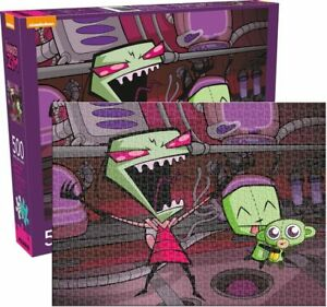 Invader Zim 500pc Puzzle nicklelodeon