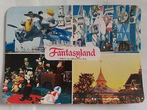 Disney Fantasyland Tokyo Disneyland Dumbo Mickey Postcard Japanese Stamps 1982