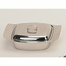 Sunnex Butter Dish and Lid Stainless Steel