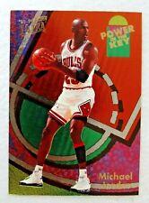Rare Foil Michael Jordan 1993-94 Fleer Ultra Power In The Key
