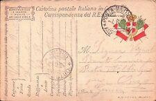 1917 FRANCHIGIA 49° FANTERIA BRIGATA PARMA - GENIO ZAPPATORI - DAL FRONTE C8-306