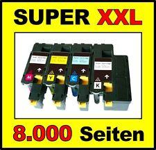 4 x tóner para Epson aculaser c1700 c1750n c1750w cx17 cx17nf con chip Cartri dges