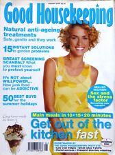 Good Housekeeping Magazine August 2004