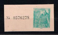 1958  SELLO DE SOBRE DELEGACIÓN DE HACIENDA TIPO CASTILLO DE LA MOTA 1,80 PTAS