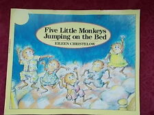 5 Little Monkeys Jumping on the Bed by Eileen Christelow 18 Inch Teacher Book