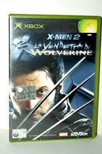 X-MEN 2 LA VENDETTA DI WOLVERINE USATO OTTIMO XBOX ED ITALIANA PAL FR1 38716