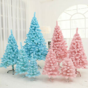 Christmas Tree Pink Flocking Cedar Faux Festival Wedding Decorations Xmas Tree