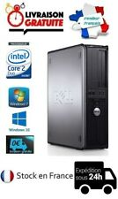 UNITÉ CENTRALE/ORDINATEUR WIFI DELL OPTIPLEX 330 DT 2Go / 4Go WIN 7 / WIN 10