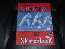 1960 CLEVELAND INDIANS BASEBALL YEARBOOK EX-MINT TO NEAR MINT