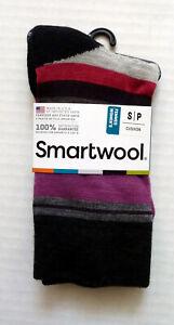 New Women`s SmartWool Saturnsphere Socks Crew Merino Wool SW0SW72