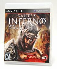 DANTE'S INFERNO DIVINE EDITION PS3 VIDEO GAME BY ELECTRONIC ARTS MINT CONDITION!