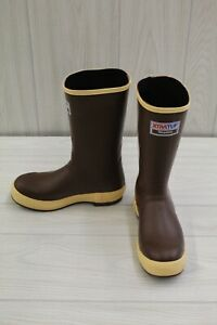 """XTRATUF 12"""" Legacy Non Insulated Rubber Boots - Men's Size 6, Brown"""