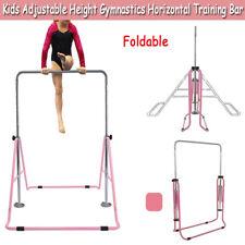 Adjustable Gym Horizontal Bar Kids Gymnastics Training Kip Bars Unique Home Play
