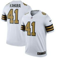 New Nike New Orleans Saints Alvin Kamara #41 Color Rush Legend Edition Jersey