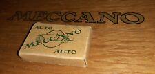 #MC7 SMALL PARTS BOX FROM 1930S MECCANO NO.1 OR 2 CONSTRUCTOR CAR(CREAM/GREEN