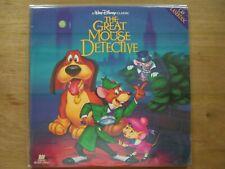 THE GREAT MOUSE DETECTIVE WALT DISNEY CLASSIC CAV 2 DISC  Laserdisc