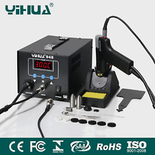 YIHUA-948 220-240V High quality Soldering Desoldering Station in digital OZ