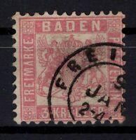 G128711 / GERMAN OLD STATES / BADEN / MI # 16 USED CV 450 $