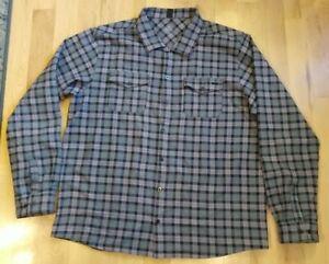 Zoic Men's Button Front Flannel Size 2XL