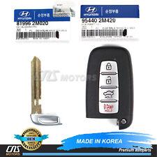 ⭐⭐GENUINE FOB Smart Key & Blank Key for 13-16 Hyundai Genesis Coupe 954402M420⭐⭐