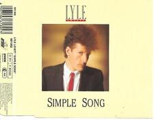 LYLE LOVETT - Simple song CD SINGLE 4TR ARIOLA BENELUX 1988 RARE!