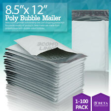 #2 8.5x12 (8.5x11) Poly Bubble Mailer Padded Envelope Shipping Bag 25,50,100 Pcs