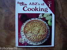 Family Circle ABZ's Of Cooking Volume 1 Thru 5