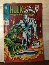 Tales To Astonish #93 (Jul 1967, Marvel) Sub-Mariner, Hulk vs.Silver Surfer
