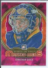 Jonathan Quick  12/13 ITG Between The Pipes  #MM-38  Masked Men - Insert