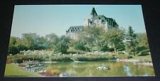 Kiwanis Park and Bessborough Hotel Saskatoon Saskatchewan Postcard