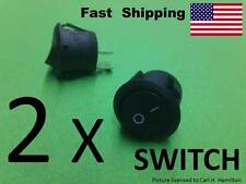 2 pack ----- Electronics Supply SWITCH --- SPST AC or DC 2 wire ---- 2 prong