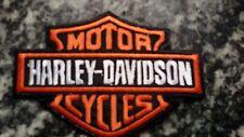 Patch Toppa Harley Davidson Logo B&S cm.  11,50 x 8,0 x Giacche Gilet Biker Moto
