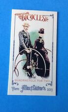 2013 TOPPS  Allen & Ginter. MINI PEOPLE ON BICYCLES  #POB-QT . RARE . 1 per CASE