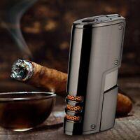 NEU Jobon Triple Jet Flame Zigarrenfeuerzeug in Geschenkbox