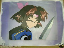 MAMONO DEVIL HUNTER YOKO YOHKO PRODUCTION CEL WITH BACKGROUND