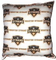 Dynamo Pillow Houston Dynamo MLS Pillow Handmade In USA Soccer Team