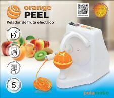 Orange Peel Domestica - Pelador eléctrico de todo tipo de frutas con piel