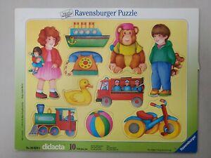 Ravensburger Didacta Vintage Frame Puzzle 1989 Toys No 060290 Otto Maier Vintage
