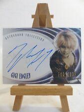 Farscape Through the Wormhole Autograph card A66 Gigi Edgley as Chiana