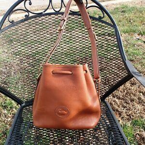 Dooney & Bourke Drawstring Bucket Bag Natural