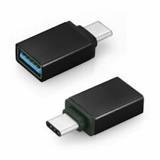 2 PCS Type C Male to USB Female Converter Adapter For Nokia 9 Pureview