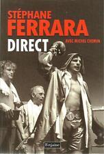 SPORT - BOXE / STEPHANE FERRARA : DIRECT - FETJAINE -2012- BIOGRAPHIE