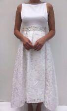 Vestiti da donna cocktail bianco floreale