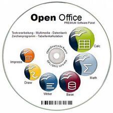 NEU bei Ebay: OPEN OFFICE für Windows 7 8 XP VISTA ersetzt Word Excel etc. Büro