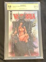 Dynamite Vampirella #1 CBCS 9.8 Signed Monte Moore CCC Exclusive Only 300 Copies