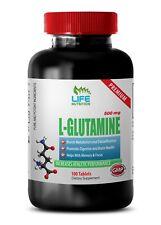 Protein Pills - L-Glutamine 500mg - Keep Your Brain Alert Pills 1B