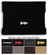 Hummer H3 1pc Classic Loop Carpet Cargo Mat - Choose Color & Logo