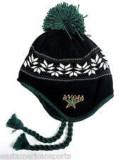 Dallas Stars NHL CCM Vintage Classic Pom Ball Knit Hat Cap Trooper Winter Beanie