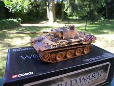 Corgi militaire ref 60202 Char Panther Ausf a Campagne D'italie 1943/44 Mint Box